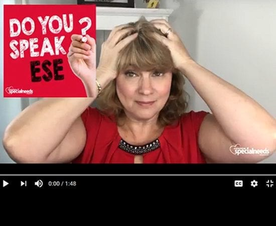 What Do the Acronyms and Terms Stand for in Special Education (Ese)? Click Here to Watch the Video.